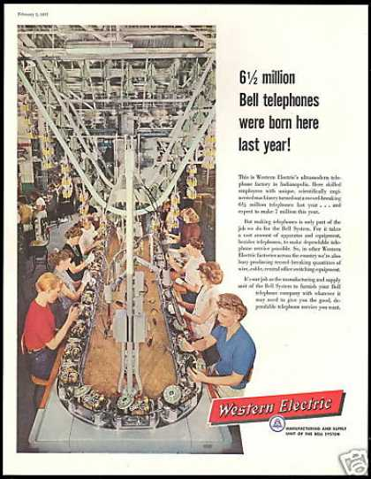 Western Electric Indianapolis Telephone Factory (1957)