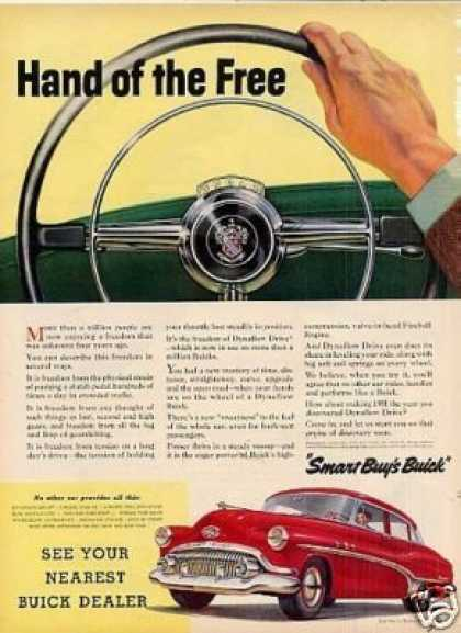"Buick Car Ad ""Hand of the Free... (1951)"