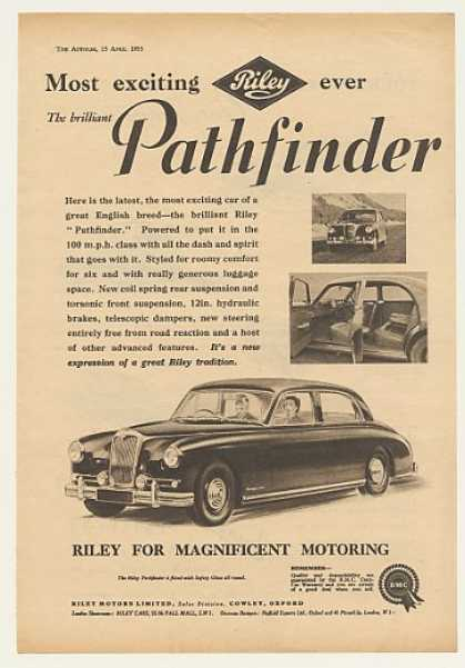 Riley Pathfinder British (1955)