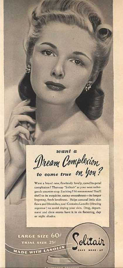 Solitair's Cake Make-Up (1944)