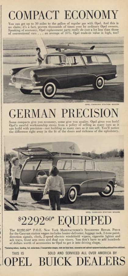 German Made Buick Opel Station Wagon (1960)