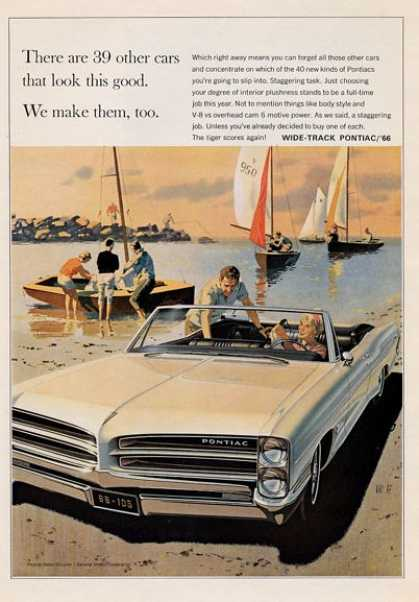 -'66 Wide-track Pontiac Sailing Boats (1965)