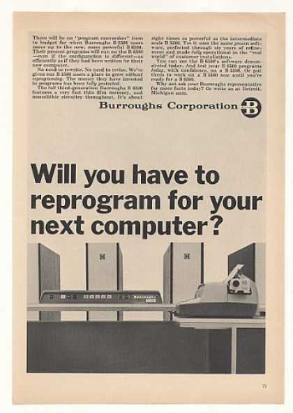 Burroughs B 6500 Computer System (1966)