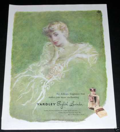 Old , Yardley English Lavender (1949)