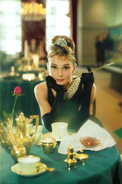 Breakfast At Tiffany's- Audrey Hepburn (1961)