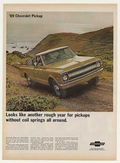 Chevrolet Chevy Pickup Truck Rough Year (1969)