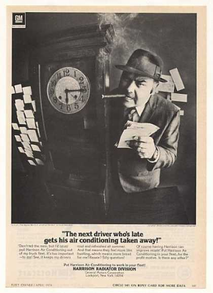 Jonathan Winters Late Driver Harrison A/C Photo (1974)