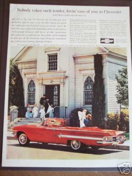 Chevrolet Impala Convertible Car Photo (1960)