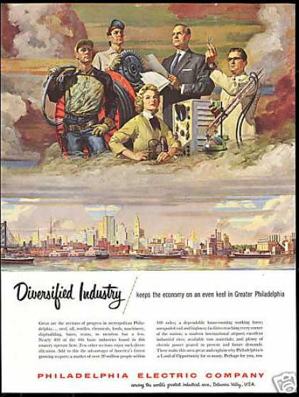 Philadelphia Electric Co Land of Opportunity (1954)