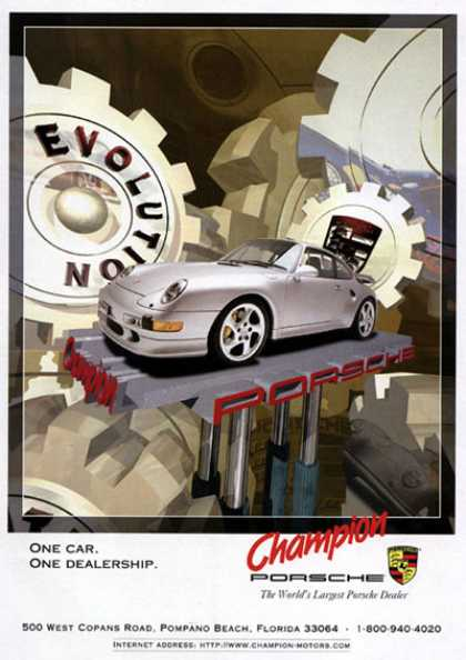 Champion Porsche Carrera (1998)