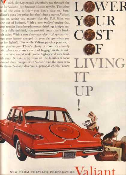 Chrysler's Plymouth Valiant/ Duster/ Barracuda (1960)