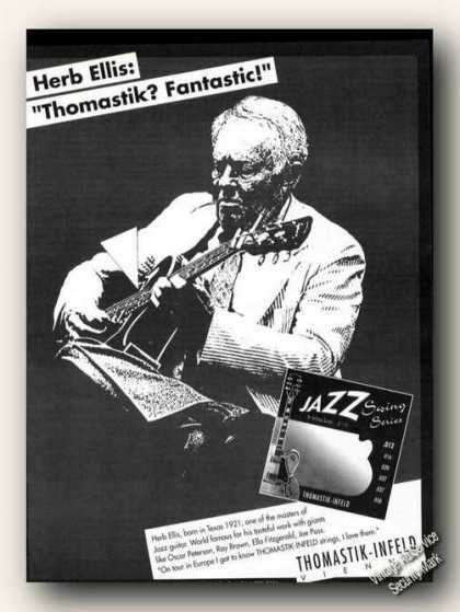 Herb Ellis Photo Thomastik-infel (1994)