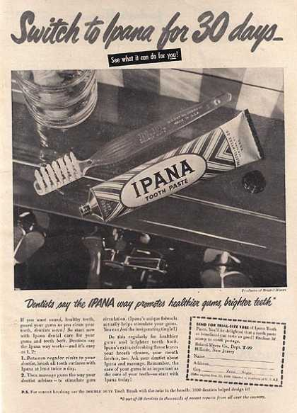 Ipana's Tooth Paste (1949)