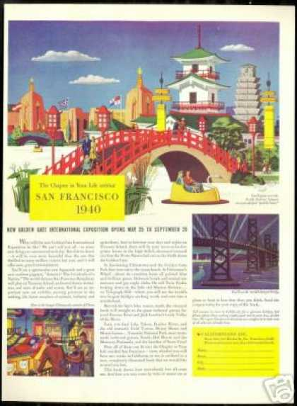 California SF International Exposition Fair (1940)
