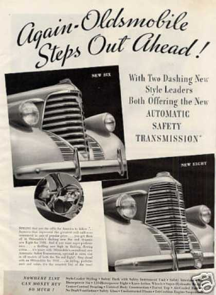 Oldsmobile Six & Eight Cars (1938)