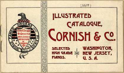 Cornish & Co.'s pianos and organs – Illustrated Catalogue
