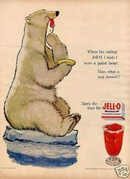 "Jello Ad ""I Wish I Were a Polar Bear"" (1954)"