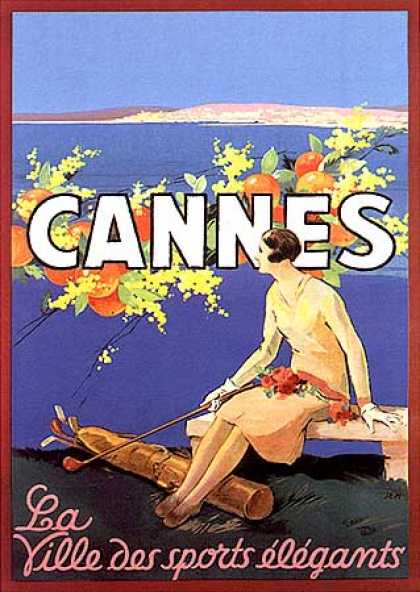 Cannes by Sem (1925)