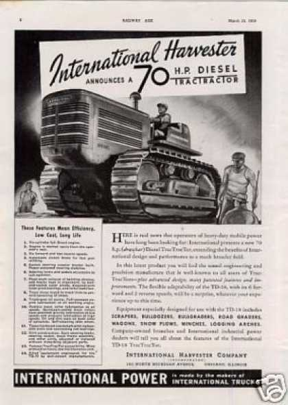 International Harvester Tractor (1939)