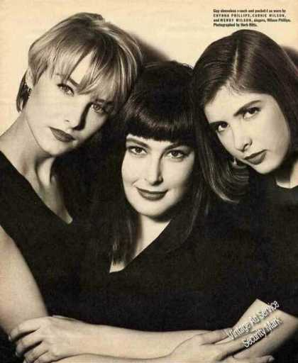 Crynna Phillips/carnie Wilson/wendy Wilson Gap (1991)