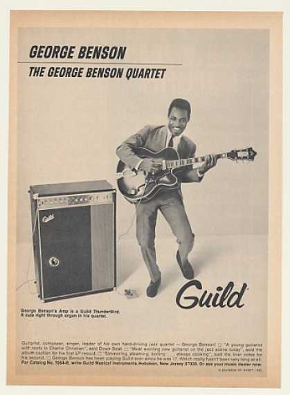 '68 George Benson Guild Guitar ThunderBird Amp Photo (1968)