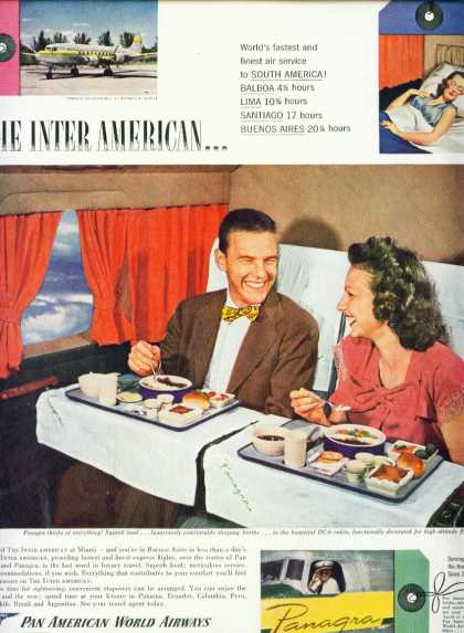 Pan American World Airways & Panagra C (1950)