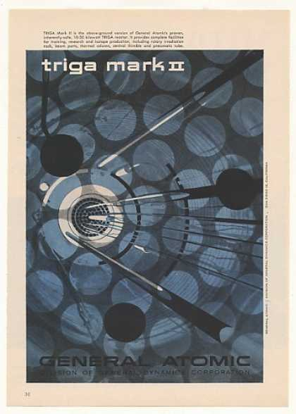 General Dynamics Atomic Triga Mark II Reactor (1958)