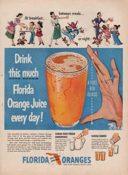 Florida Orange Juice Every Day (1951)