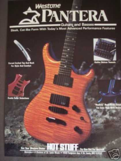 Westone Pantera Guitar Photo (1986)