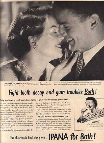 "Ipana's ""Keep your Whole mouth Wholesome!"" (1950)"