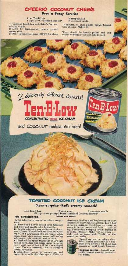 Ten B Low Real Ice Cream (1951)