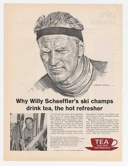 Ski Champ Willy Schaeffler Tea Council (1961)