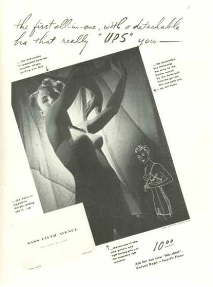 Saks Fifth Avenue Corset Ups You Leslie Gill (1938)