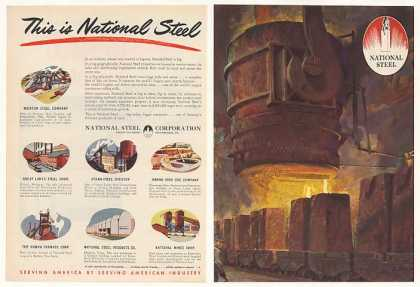 National Steel is Big 7 Companies (1952)