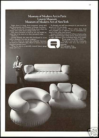 Quasar Khanh Inflatable Furniture Chair Quasar (1970)