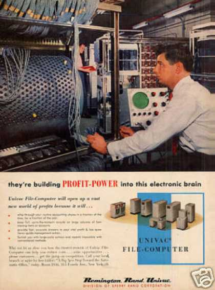 Remington Rand Univac File-computer (1956)