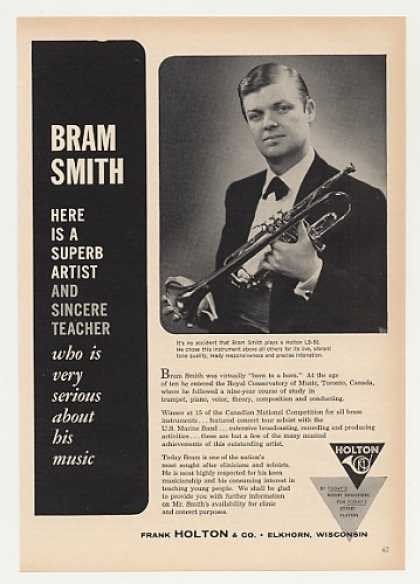 Bram Smith Holton LB-50 Trumpet Photo (1964)