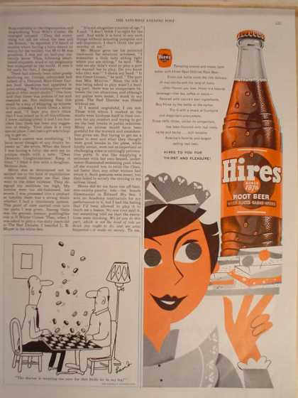 Hires Root Beer For thirst and pleasure (1954)
