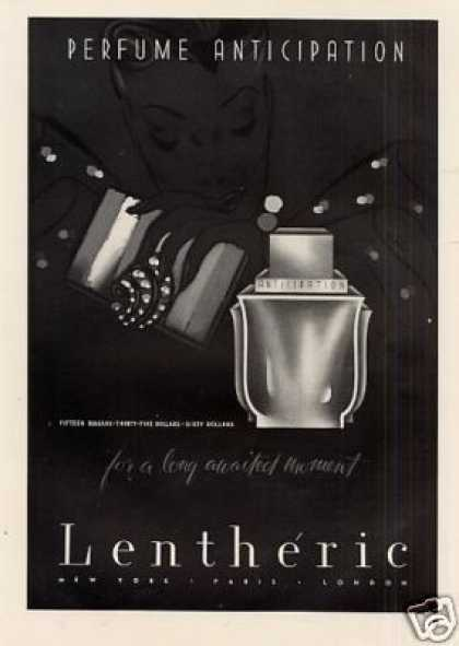 Lentheric Anticipation Perfume (1940)