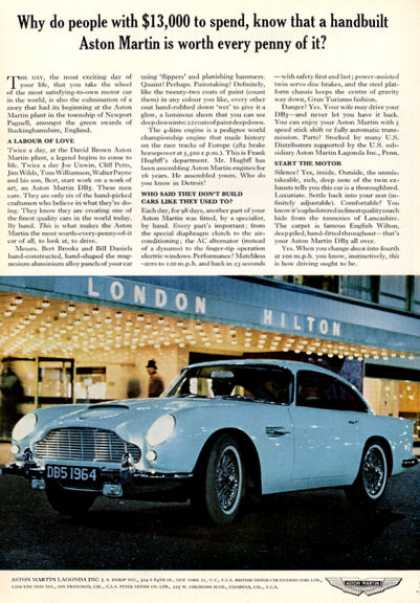 Rare Aston Martin Db5 London Hilton (1964)
