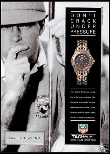 Tagheuer Tag Heuer Watch St Andrews Golf Course (1994)