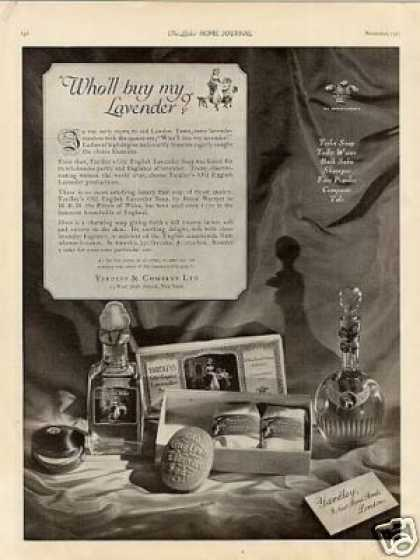 Yardley English Lavender Fragrance (1923)