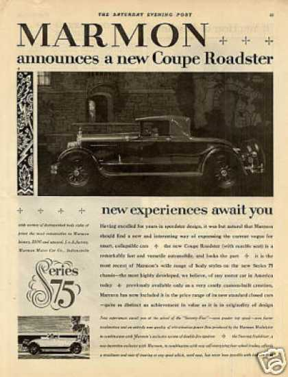 Marmon Coupe Roadster (1926)
