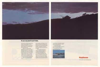 '87 Raytheon IR Maverick Missile Tank Night Photo 2P (1987)