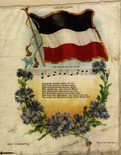 Unknown [Lorillard?]'s Zira and Nebo Cigarettes – National Flag Series – Image 5