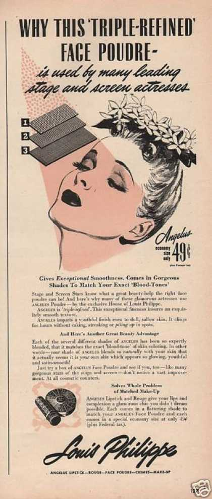 Face Powder for Women Louis Philippe (1943)