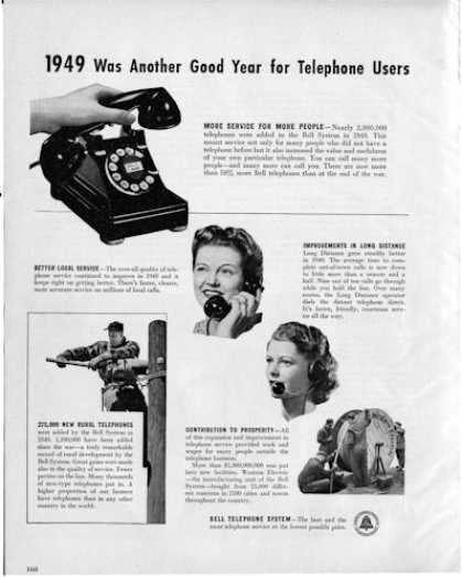 Bell Phone Rotary Dial Lineman (1950)