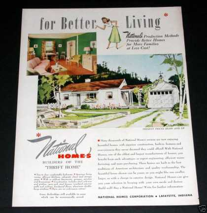 National Homes, Better Living (1949)