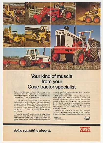Case David Brown 1212 1370 Tractors Loaders (1974)