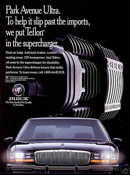 Buick Park Avenue Ultra Car Supercharger (1994)